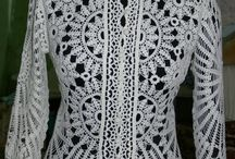 blusa blanca con mangas hecha por mi