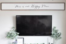 Tv wall decor
