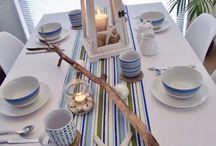 Nakrycie stołu w stylu morskim / Jak nakryc stol w morskim stylu