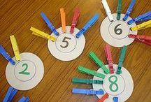 Buchstaben & Zahlen in der Kita