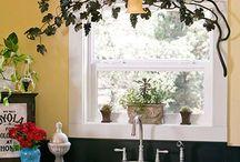 window decoration/ ablakdekorációk függöny helyett