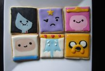 Adventure Time decorated cookies