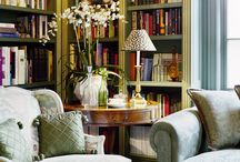 Obsessed with Bookcases / by Amity Mann