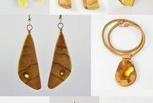 Wooden jewelry,Wood jewelry,Natural Wood Jewelry, Jewelry made of wood,Jewelry of wood, / unique, handmade  jewelry made of wood and wood inlaid. https://www.etsy.com/shop/Mazunii