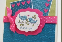Cards: A Few SU Faves! / Be sure to check out my other categories for holiday and theme specific cards also using Stampin' Up.