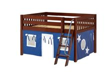 Low Loft Beds / Start with a low loft for your little boy or girl & add some fun flair! These loft beds for kids can be reconfigured as he or she gets older. Have tons of indoor fun with Maxtrix low lofts!
