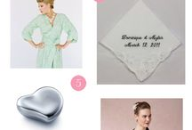 Mother of the Bride Gift Ideas / by Li'l Inspirations - Wedding Handkerchiefs Custom Made Personalized
