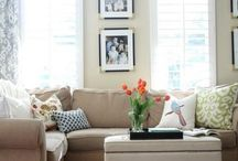 Living Areas / by Carrie Brown