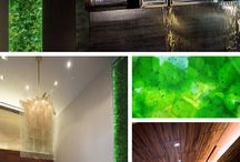 Retail Installations / Custom architectural art glass for retail spaces.