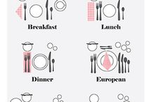 GASTRONOMY | how to set a table