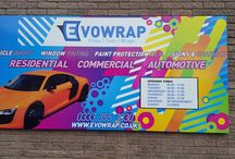Signs & Graphics / Vinyl signs and graphics