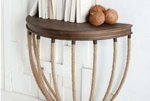 End Tables / Interior design and decorating ideas for end tables
