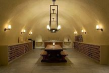 Wine cellar plaster ideas