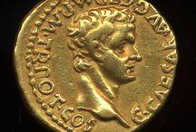 Monnaies romaines.