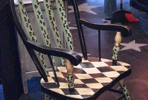 Hand painted rockers / by Distinctive Artistry