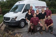 Pete's Plumbing Atlanta / Pete's Plumbing is owned by Rick and Julie Lippitt. Pete's was our very first client. They have been a client since September 2008. Love em :-)