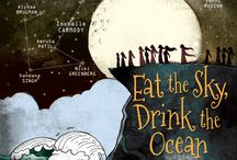 Eat the Sky, Drink the Ocean / A ground-breaking intercontinental collection of speculative stories, in both prose and graphic novel form, with contributors from India and Australia.