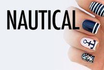 Nautical Nail Art & Nail Designs