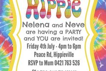 Hippie birthday party