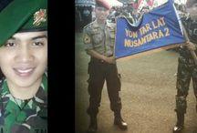 Video Polisi Tentara