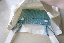bolsas e trabalhos de costura