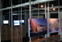 Exhibition display ideas.