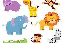 Art & Doodles - Animals - Zoo