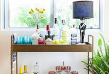 Styling: Bar Cart / by Kimberly Bunnell