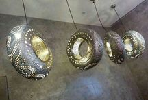 DIY Lampen / Machen sie aus alten unnützlichen Sachen, wundervolle Möbel!