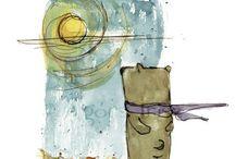 Иллюстрация / Вдохновение для работы над иллюстрациями