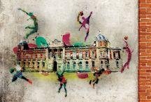 Revista de la XXI Gala del Deporte Provincial de la Diputación de Ciudad Real / Imágenes con temática grafitera para la Revista de la XXI Gala del Deporte Provincial de la Diputación de Ciudad Real