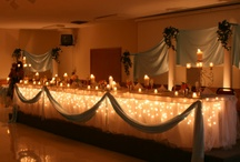 My wedding decor and selections / What I'm actually doing