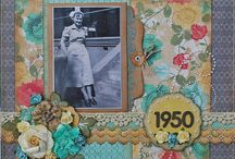 Scrapbook Layouts - Heritage / by Laura Laforest