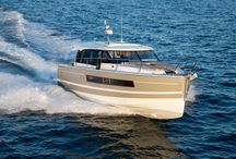 Jeanneau NC 14 / Elegance, Luxury, Comfort  With a remarkable design by Camillo and Vittorio Garroni, the NC 14 is assertive, with pure lines, sober volumes, and an unforgettable contemporary style.  http://www.jeanneau.com/boats/NC-14.html