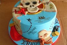 Kids Cakes / Pirate Treasure Map
