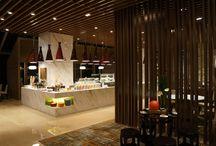 reception cafe area