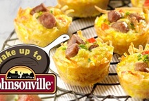 Wake Up to Johnsonville / Share with us your best breakfast recipe using Johnsonville® Sausage and you could win an 11-piece set of Professional Cookware from Scanpan® and a year's supply of Johnsonville® Sausage. Simply cook up your favorite morning meal & upload a photo. Weekly winners will receive a 5-piece Scanpan® Pro set, so get up and get cookin'! DISCLAIMER: This board is a showcase of random fan entries and is not, in any way, affiliated with or indicative of the judging process for Wake Up to Johnsonville.
