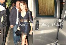 Bülent Emrah Parlak and Burcu Gönder's wedding (20/11/2015) / #Kenanİmirzalıoğlu and #SinemKobal at wedding of Bülent Emrah Parlak and Burcu Gönder (20/11/2015).