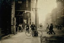 Bicycle messengers / 1908-1917
