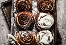 Cinnamon rolls / Who doesn't love cinnamon rolls? Most of there are definitely indulgent recipes, but I will also make sure to pin some healthier variations of the classic pastry. Enjoy!