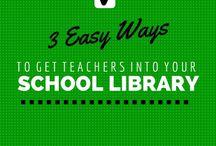 A-Z Library ideas working with teachers / by Lynne Daffern