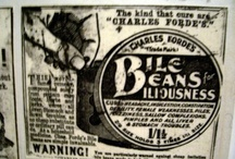 Old fashioned medicines and adverts