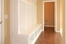 mudroom built-in / by Heather Abercrombie Elya