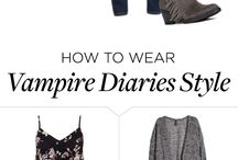 How To Wear The Vampire Diaries Style