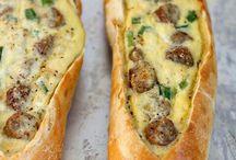 Breakfast ideas pretzel dog