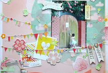 Scrapbook Layouts & Cards / by Teresa Huckle-Fink
