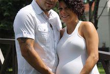 Photo Studio Idea....!Tony & Melissa (expecting Tristan)...!