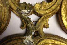 restauro dorature / restauro di oggetti dorati