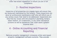 Infographics / Property management infographics
