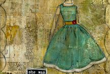 Collage/Mixed Media/Altered Art